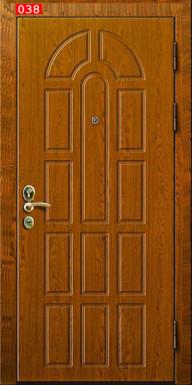 Бронированная стальная дверь «Броня-3 А» MOTTURA