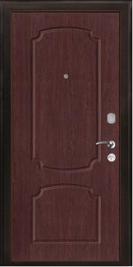 """Металлическая дверь """"КЛОС-2"""", макоре темный винорит"""