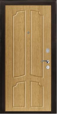 Металлическая дверь «ВЭЛТЕН-2», ель карпатская