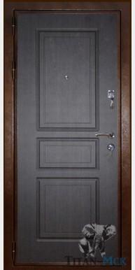Металлическая дверь «ДОН», венге тадж