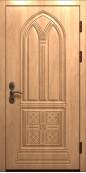 """Металлическая дверь """"Морфеус"""", белый шелк"""