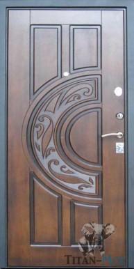 Металлическая дверь Style 10 Spartak, Винорит