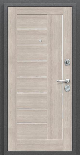 титан мск входная дверь проф антик серебро Cappuccino